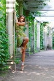Ballet outdoors Royalty Free Stock Image