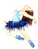 Ballet para siempre ilustración del vector