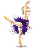Ballet para siempre stock de ilustración