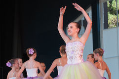 Ballet in the Park Royalty Free Stock Photos