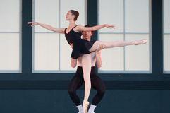 Ballet in the Park Stock Image