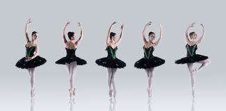 Ballet perfection Royalty Free Stock Photography