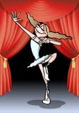 Ballet performance Stock Photography