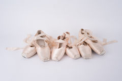 Ballet Pointe Shoes Royalty Free Stock Photos