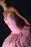 Ballet pose stock images