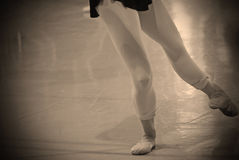 Ballet practice Stock Image