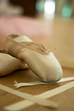 Ballet shoe Stock Photography