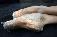 Ballet Shoes Stock Photography