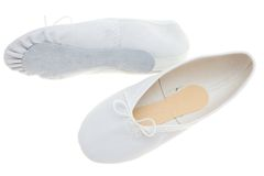 Ballet shoes Royalty Free Stock Photos