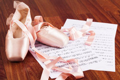 Ballet Shoes Royalty Free Stock Photography