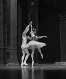 Ballet side Royalty Free Stock Images