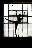 Ballet Silhouette 1 Stock Images