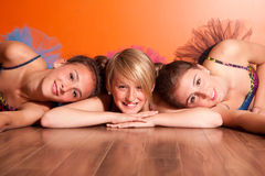 Ballet sisters Royalty Free Stock Photo
