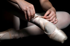 Ballet Slippers Royalty Free Stock Image