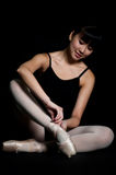 Ballet Slippers stock images