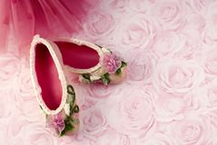 Ballet Slippers Royalty Free Stock Photo