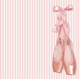 Ballet Slippers stock illustration