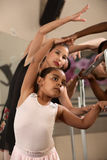 Ballet Students Exercising Royalty Free Stock Image