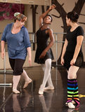 Ballet Students And Teacher Stock Photography