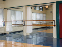 Ballet studio Stock Photo