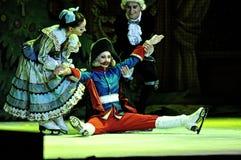 Ballet sur la glace Photo stock