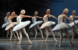 Ballet. Swan Lake ballet by Theatre Russian Ballet, St.Petersburg, Russia stock images