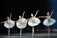 Ballet. Swan Lake ballet by Theatre Russian Ballet, St.Petersburg, Russia Royalty Free Stock Photography
