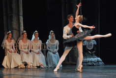 Ballet. Swan Lake ballet by Theatre Russian Ballet, St.Petersburg, Russia Stock Photography