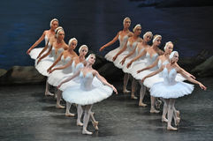 Ballet. Swan Lake ballet by Theatre Russian Ballet, St.Petersburg, Russia Royalty Free Stock Photos