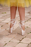Ballet toe shoes Royalty Free Stock Image