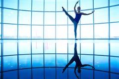 Ballet training Royalty Free Stock Photo