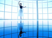 Ballet training Royalty Free Stock Images
