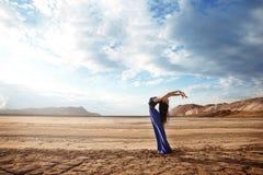 Ballet under the blazing sun Stock Image