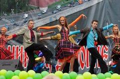 Ballet Viva-Dance on a scene royalty free stock photos