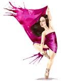 Ballet voor altijd Royalty-vrije Stock Afbeeldingen