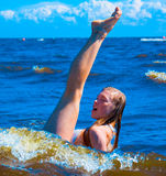 Ballet in water Royalty Free Stock Images