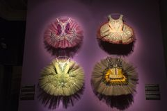 Ballet y exposición de la pasión en el museo de artes y artes en Zagreb, Croacia Fotos de archivo libres de regalías