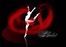 Balletachtergrond Royalty-vrije Stock Afbeelding