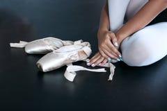 Balletschoenen Royalty-vrije Stock Foto