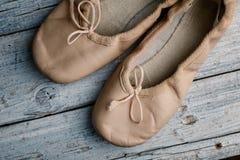 Balletschoenen stock afbeeldingen
