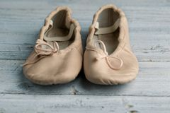 Balletschoenen stock fotografie