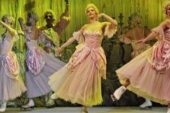 Ballett auf Eis Lizenzfreies Stockfoto