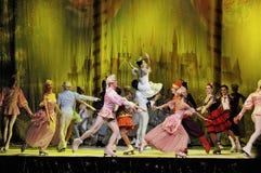 Ballett auf Eis Lizenzfreie Stockfotografie