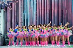 Ballett barn Arkivbilder