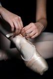 Ballett-Hefterzufuhren Lizenzfreie Stockfotografie