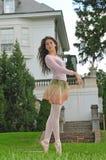 Ballett im Garten Stockbild