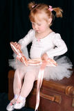 Ballett-Mädchen Stockfotos