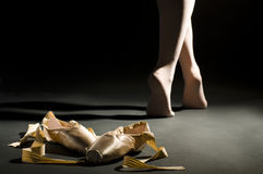 Ballett schoes Stockfotografie
