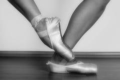 Ballett-Schuhe Lizenzfreie Stockfotos
