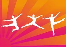 Ballett-Tänzer stock abbildung